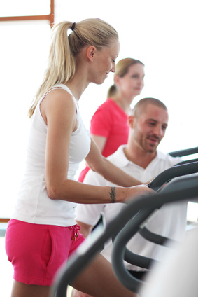 interval training crosstrainer